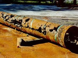 sewer pipe repair corrosion nj