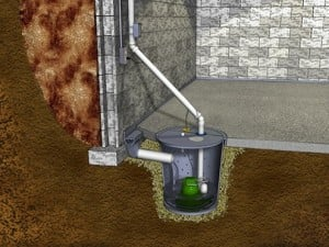 sump pump installation nj diagram